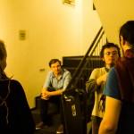 Roman Heller: Societymindlove 2.0, Zwei Minuten bis zur Aufführung - das Dreamteam unter sich