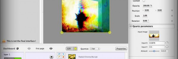 Millumin: Eine audio-visual Show Software in Kinderschuhen