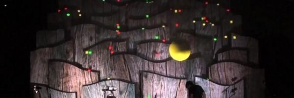 Mund der Wahrheit – interaktives Video Mapping auf dem Trailerpark Festival