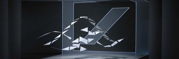 Augenschmankerl: kinetische Skulptur mit 3D Mapping
