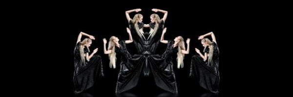 """""""Black Leather Sequence"""" – 3D Holographic Fashion Show"""
