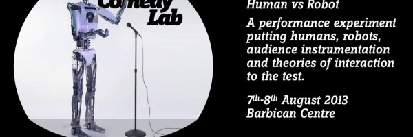 Comedy Lab: Human vs Robot [PhD, 2013]