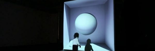 SPHERE videomapping installation